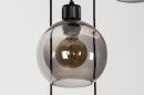 Hanglamp 74039: modern, retro, glas, metaal #8
