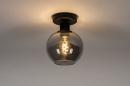 Plafondlamp 74040: modern, retro, eigentijds klassiek, art deco #2