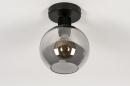 Plafondlamp 74040: modern, retro, eigentijds klassiek, art deco #3