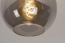 Plafondlamp 74040: modern, retro, eigentijds klassiek, art deco #4