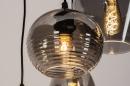 Pendelleuchte 74042: modern, Retro, zeitgemaess klassisch, Glas #10