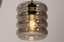 Pendelleuchte 74042: modern, Retro, zeitgemaess klassisch, Glas #14
