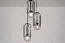 Hanglamp 74045: sale, modern, glas, metaal #1