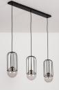 Hanglamp 74047: sale, modern, glas, metaal #6