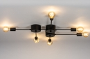 Plafondlamp 74049: industrie, look, design, modern #3