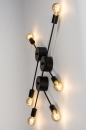 Plafondlamp 74049: industrie, look, design, modern #9
