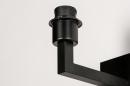 Onderdeel 74059: modern, metaal, zwart, mat #1