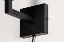 Onderdeel 74059: modern, metaal, zwart, mat #2