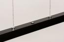 Hanglamp 74068: design, modern, hout, donker hout #11
