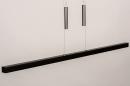 Hanglamp 74068: design, modern, hout, donker hout #4