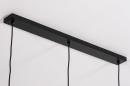 Hanglamp 74076: modern, eigentijds klassiek, art deco, glas #19