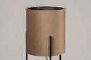 Vloerlamp 74080: landelijk, rustiek, eigentijds klassiek, stof #3