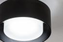Plafondlamp 74089: design, modern, retro, aluminium #3