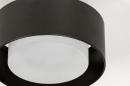 Plafondlamp 74089: design, modern, retro, aluminium #4