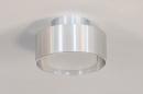 Plafondlamp 74091: design, modern, retro, aluminium #1