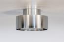 Plafondlamp 74092: design, modern, retro, aluminium #1