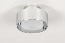 Plafondlamp 74092: design, modern, retro, aluminium #3