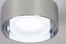 Plafondlamp 74092: design, modern, retro, aluminium #4