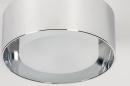Plafondlamp 74092: design, modern, retro, aluminium #5