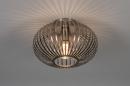 Plafondlamp 74111: modern, retro, staal rvs, metaal #1