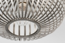 Plafondlamp 74111: modern, retro, staal rvs, metaal #3