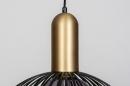 Hanglamp 74112: modern, eigentijds klassiek, art deco, metaal #10