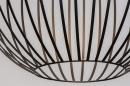 Hanglamp 74112: modern, eigentijds klassiek, art deco, metaal #8