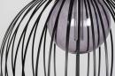 Hanglamp 74112: modern, eigentijds klassiek, art deco, metaal #9