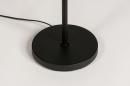 Vloerlamp 74113: modern, retro, metaal, zwart #10