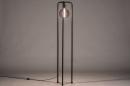 Vloerlamp 74116: design, modern, metaal, zwart #1