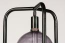 Vloerlamp 74116: design, modern, metaal, zwart #8