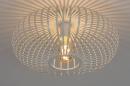 Plafondlamp 74117: modern, retro, metaal, wit #2