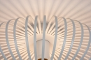 Plafondlamp 74117: modern, retro, metaal, wit #6