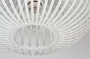 Plafondlamp 74118: modern, retro, metaal, wit #3