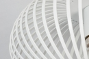 Plafondlamp 74118: modern, retro, metaal, wit #4