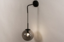 Wandlamp 74128: modern, retro, glas, metaal #3