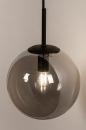 Wandlamp 74128: modern, retro, glas, metaal #6
