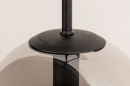 Wandlamp 74128: modern, retro, glas, metaal #7