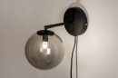 Wandlamp 74129: modern, retro, eigentijds klassiek, glas #5