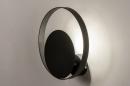 Wandlamp 74133: modern, retro, metaal, zwart #4