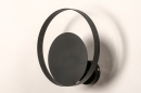 Wandlamp 74133: modern, retro, metaal, zwart #5