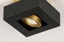 Plafondlamp 74134: design, modern, metaal, zwart #9