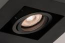 Plafondlamp 74136: design, modern, metaal, zwart #10