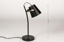 Tafellamp 74150: landelijk, rustiek, modern, eigentijds klassiek #1