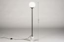 Vloerlamp 74152: landelijk, rustiek, modern, eigentijds klassiek #1