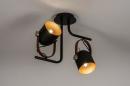 Plafondlamp 74153: industrie, look, modern, eigentijds klassiek #2