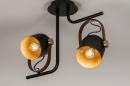 Plafondlamp 74153: industrie, look, modern, eigentijds klassiek #3