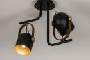 Plafondlamp 74153: industrie, look, modern, eigentijds klassiek #4