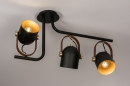 Plafondlamp 74154: industrie, look, modern, eigentijds klassiek #1