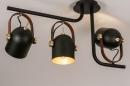 Plafondlamp 74154: industrie, look, modern, eigentijds klassiek #2